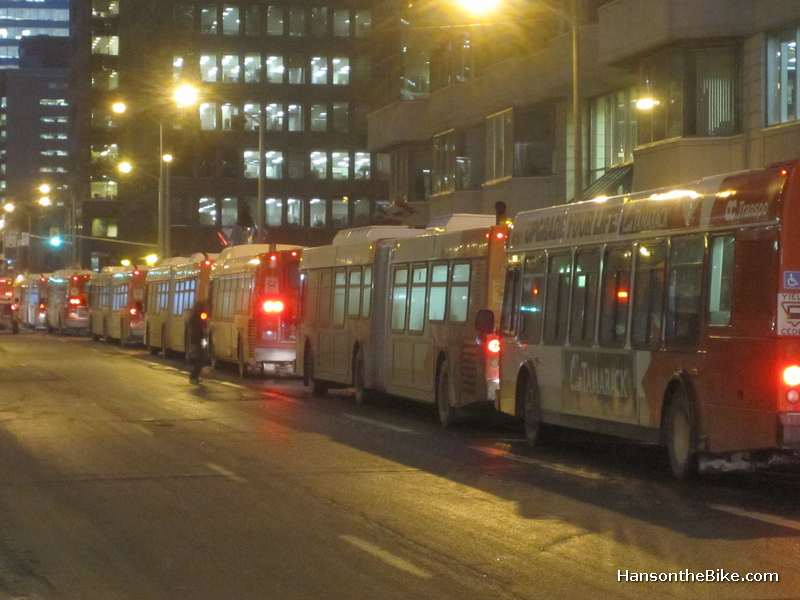 Free transit might mean more buses on the road