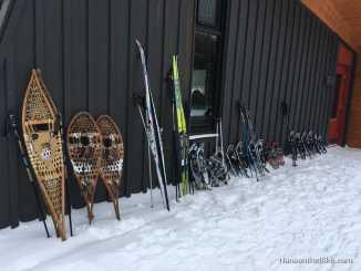 Snowshoes at Renaud hut