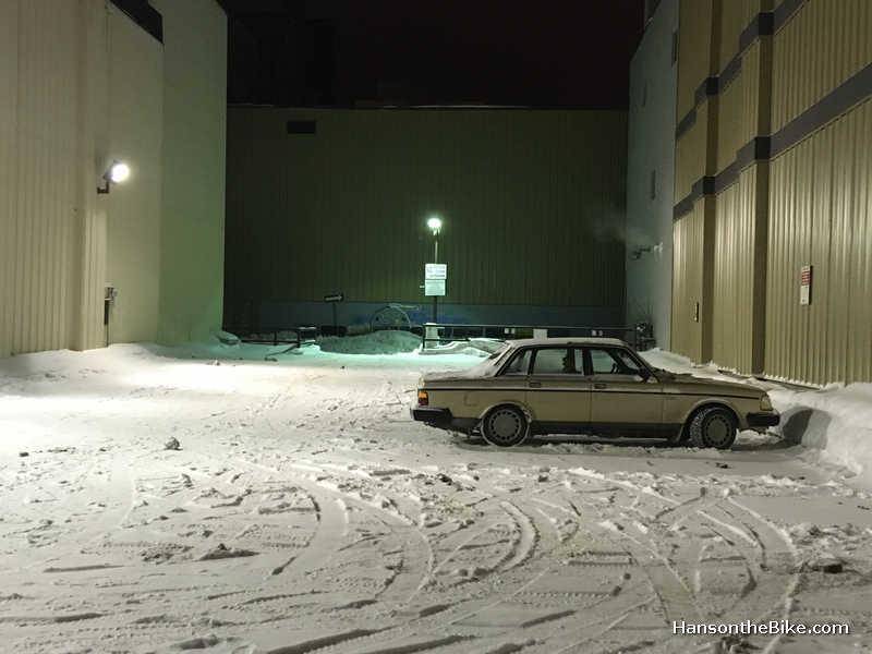 Sudbury on a Wednesday evening in February