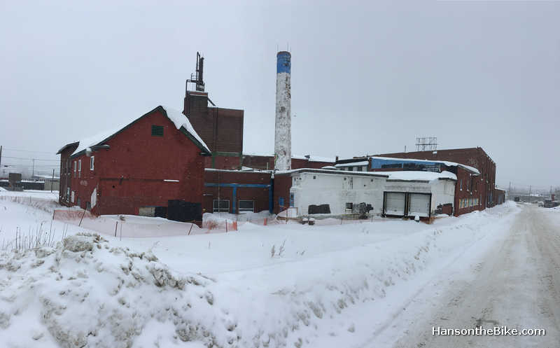 An abandoned brewery in Sudbury, ON