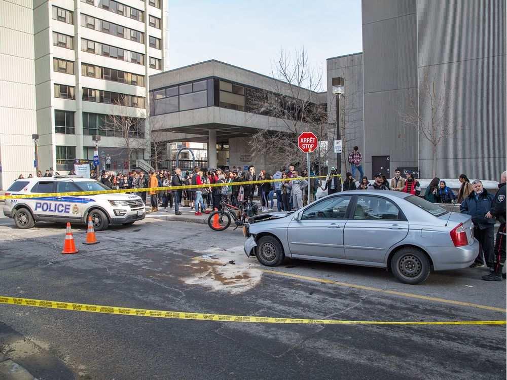 I walked here a day before - Photo:  Ottawa Citizen