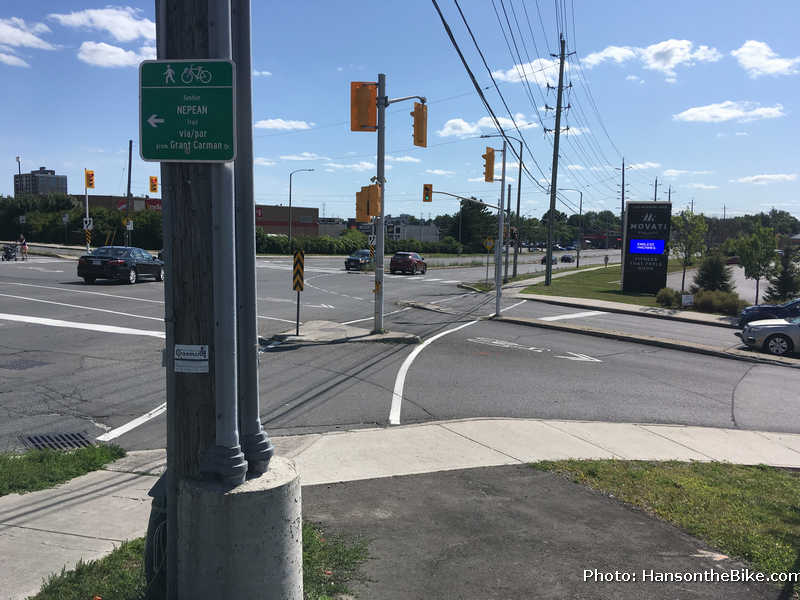 Nepean Trail Meadowlands intersection