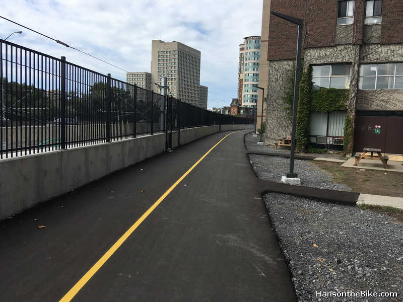 pathway along confederation line