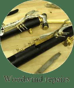 Woodwind repairs
