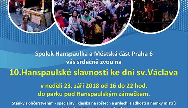 10. hanspaulské slavnosti ke dni svatého Václava