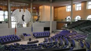Bundestag, Foto privat