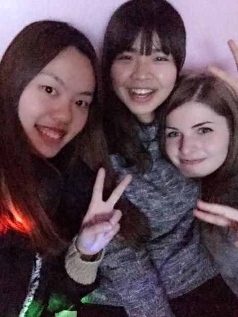 Boheun, Pei Wen and I