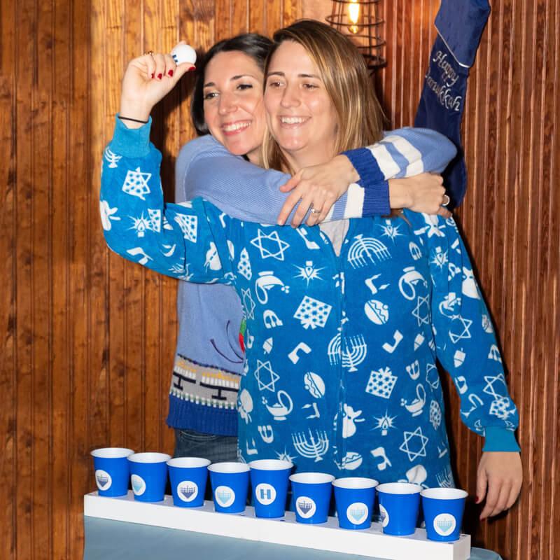 Hanukkah Pong game