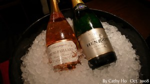 2 choices of Champagne by the glass