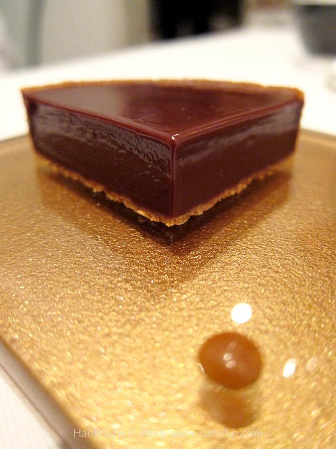 黑巧克力塔(Tartelette au chocolat noir)