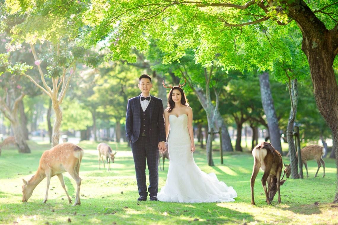 海外婚紗 旅行婚紗 婚紗攝影 奈良
