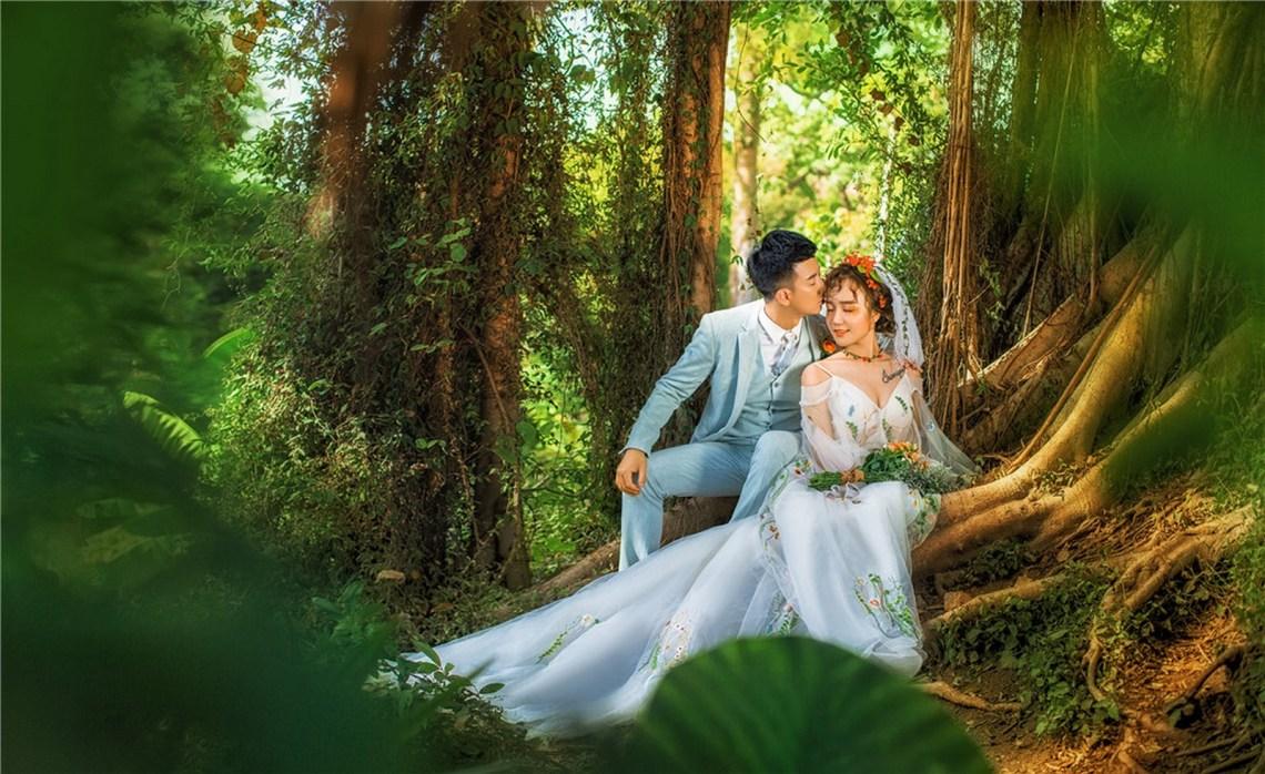 コロンス  Gulangyu   海外の結婚式の前攝 寫真集