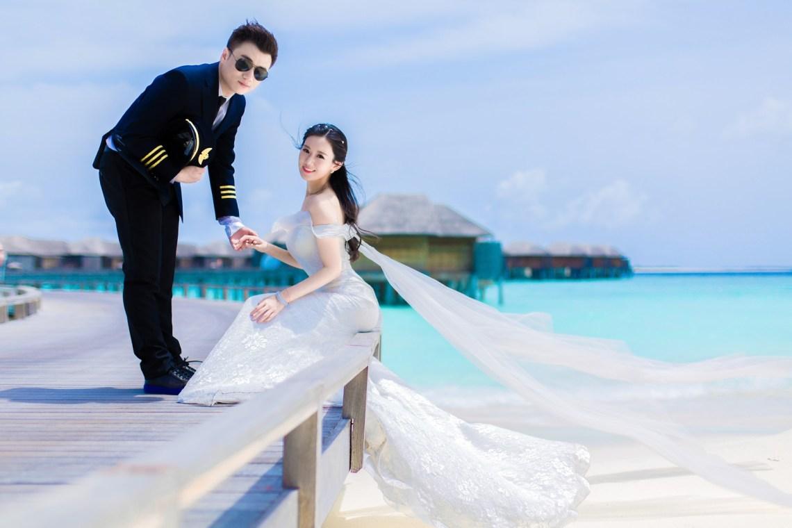 モルディブ Maldives     海外の結婚式の前攝 寫真集