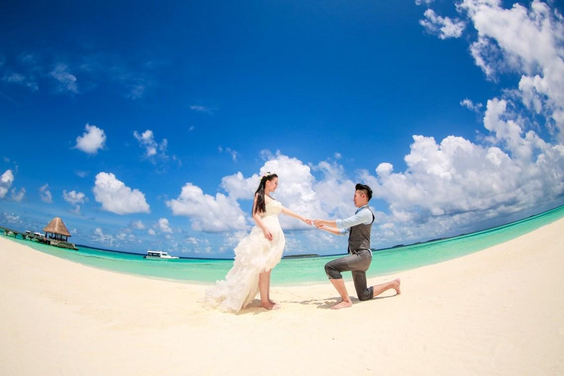 海外婚紗,馬爾地夫婚紗,海外婚紗推薦,婚紗照片風格
