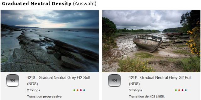 Cokin Gradual Neutral Grey Filter Soft and Full