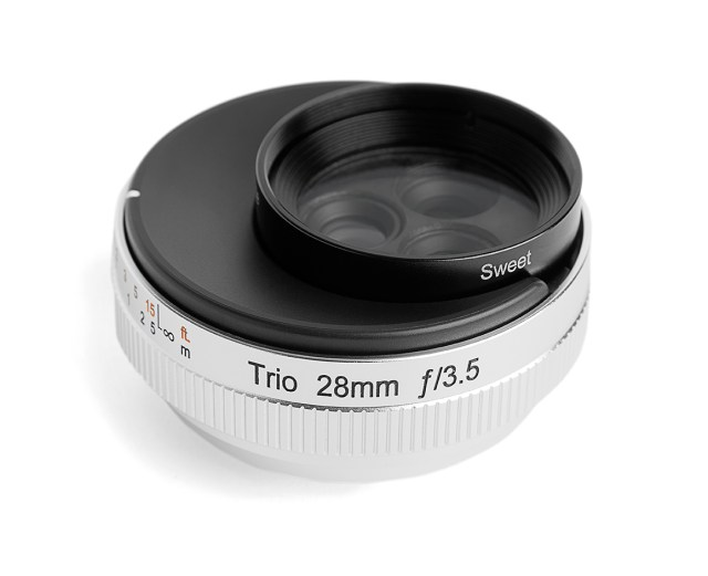 Lensbaby Trio 28 für Fotografen und Filmer