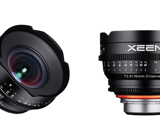 XEEN 16mm T2.6 Cinema-Objektiv