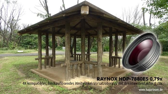 RAYNOX HDP-7880ES 0,79x Weitwinkel Objektivvorsatz