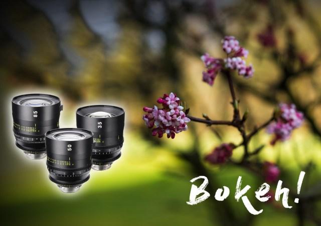 Bokeh - Tokina Vista Cinema Prime Objektive