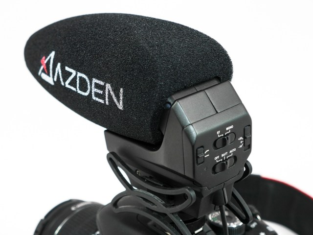 Azden SMX 30 Mikrofon für Blogger