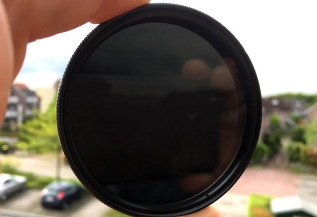 """ND Filter - auch """"Sonnenbrille für das Objektiv"""" genannt"""