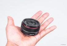 Das neue ultrakompakte SAMYANG 35mm f/2.8 FE Objektiv. Samyang 35mm Autofokus Objektiv spiegellose Sony Vollformatkameras.
