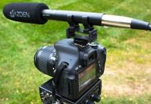 Azden SGM-250 - Richtrohrmikrofon mit Dual-Power