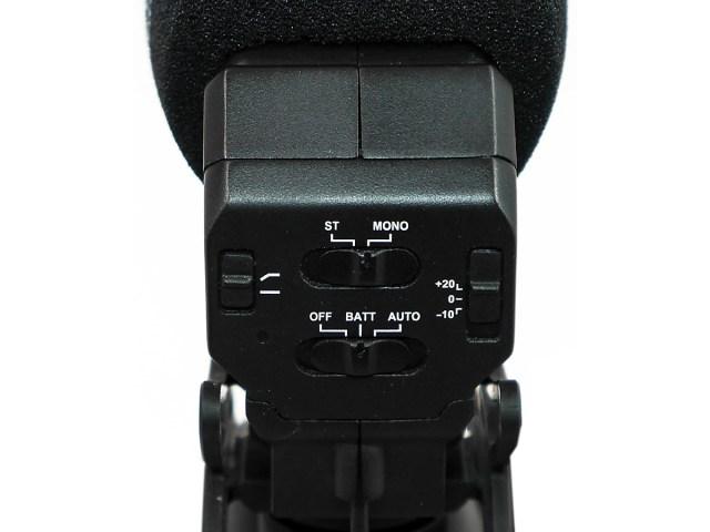 Azden SMX-30 mit Stromsparfunktionen