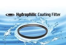 Tokina Hydrophilic Coating Filter schützen Objektive bei starkem Regen, verhindern Tropfenbildung und lösen Schmutz für glasklare Filmaufnahmen