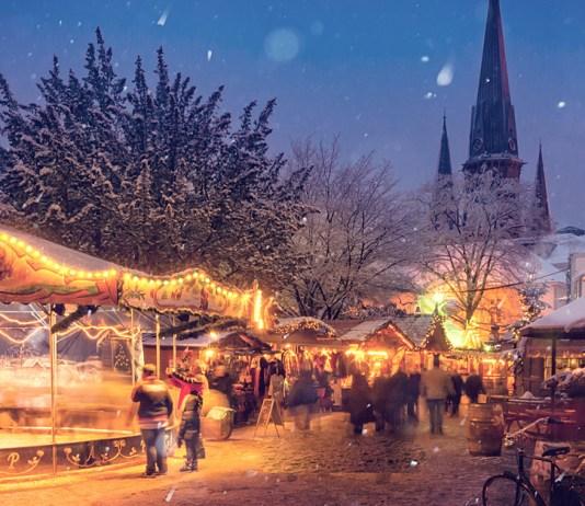 Fotografieren auf dem Weihnachtsmarkt