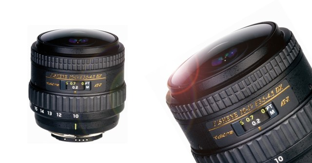 Tokina AT-X 10-17/3.5-4.5 DX NH Fisheye Objektiv