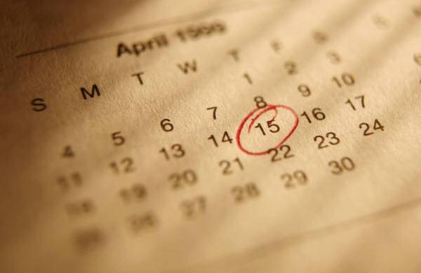 英語の日付の書き方、読み方、略し方