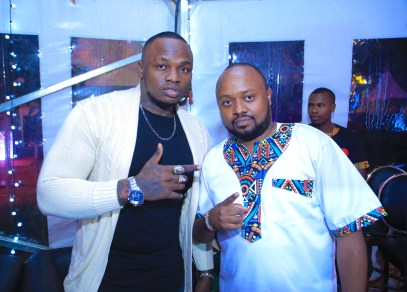 Kenyan Based Hip Hop Rapper, Khaligraph Jones and Jaymoh Ule msee