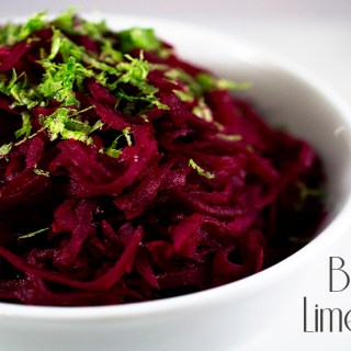 Beets with Lime Butter