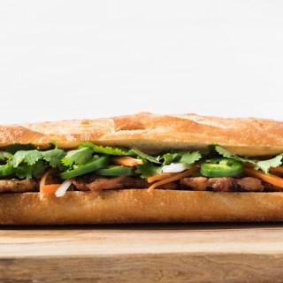 Lemongrass Pork Bánh Mì