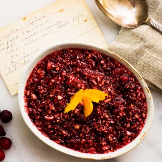 Super quick and easy Cranberry Relish