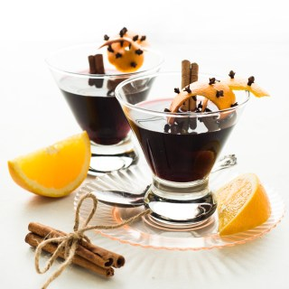 Glogg (Swedish Mulled Wine)