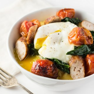 Polenta Breakfast Bowl