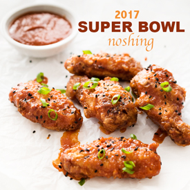 Super Bowl Recipes on Hapa Nom Nom