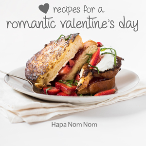 Valentine's Day Recipes on Hapa Nom Nom!!!