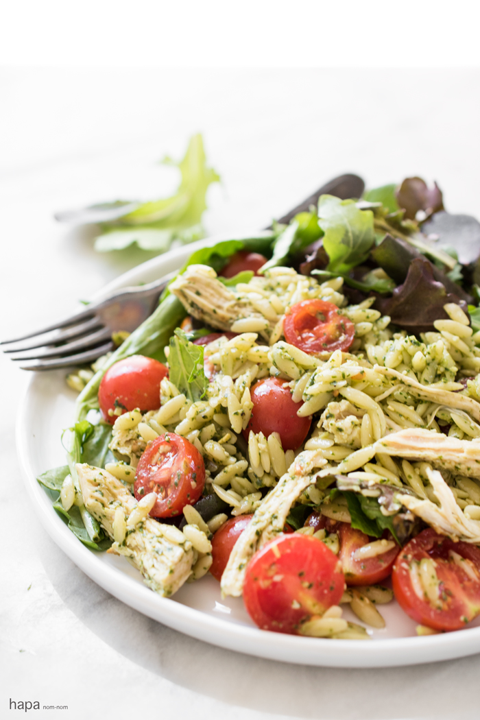 Chicken and Orzo Salad