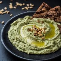 Super Green Goddess Hummus
