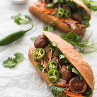 Meatball Bánh Mì Sandwich