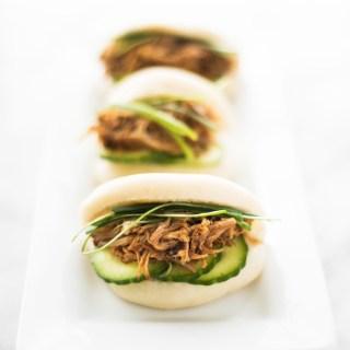 Taiwanese Steamed Buns (Gua Bao)