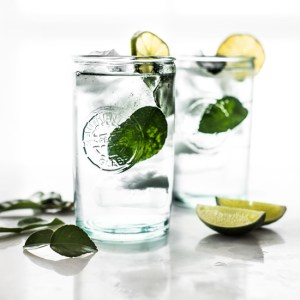 Cool, refreshing, Kaffir Cooler - make it boozy or keep it virgin