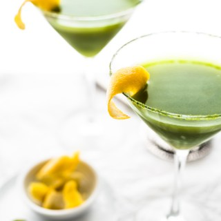 Matcha Honey Lemon Drop