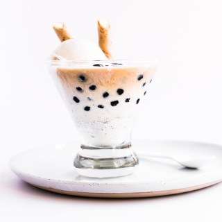 Chai Bubble Tea Affogato