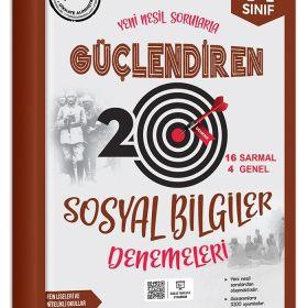 Ankara Yayıncılık 7. Sınıf Güçlendiren Sosyal Bilgiler 20 Deneme Sınavı