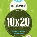 BLOKTEST 6.SINIF FEN BİLİMLERİ 10×20 KAP DENEME (1.DNM)