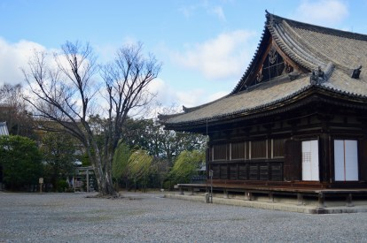 Sanjusangen-do, Temple of the 1001 Buddhas.